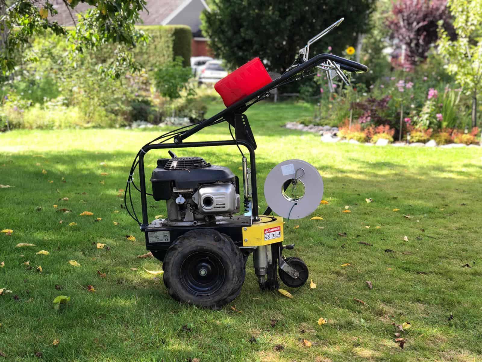 Robotgräsklippare Installation Skåne